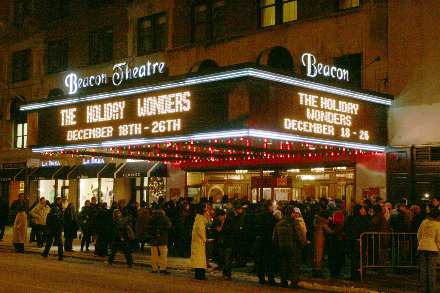 beacon theater à new york