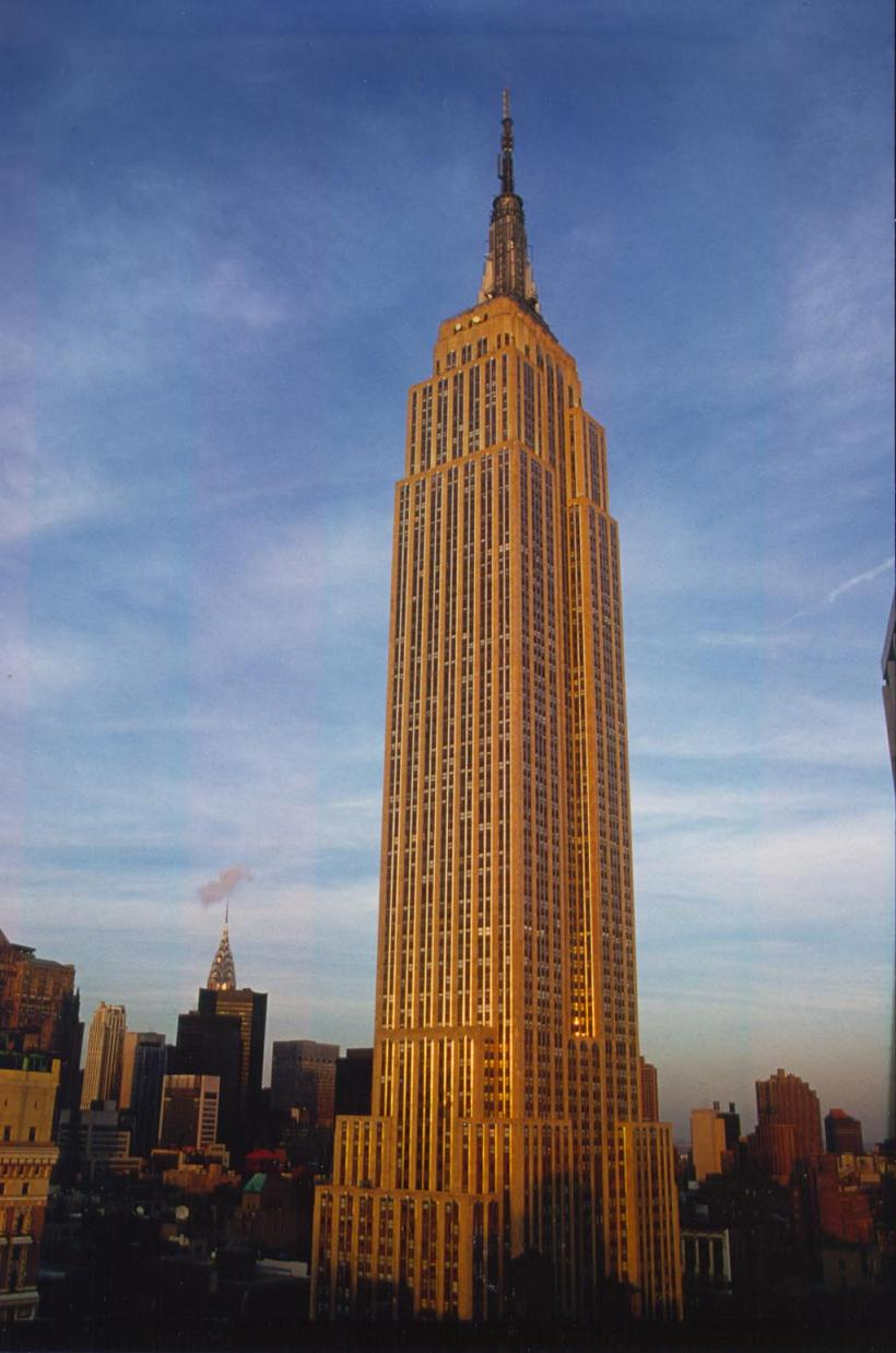 the empire state building new york. Black Bedroom Furniture Sets. Home Design Ideas