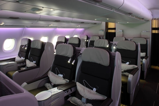 classe affaires air france