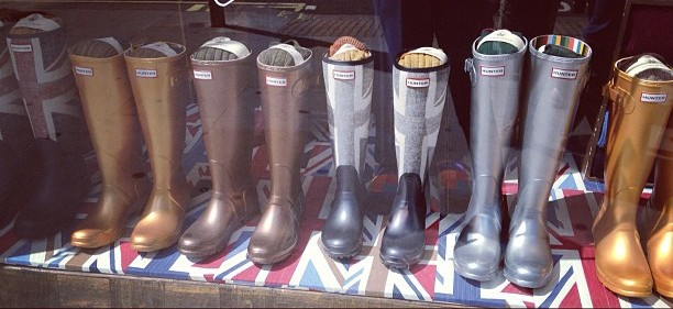 rain boots hunter new york