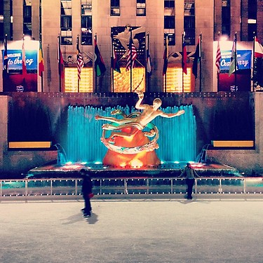 Ice-Rink-Rockefeller-Center Que faire en décembre 2012 à New York ?