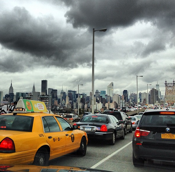 Photo du jour : Traffic Jam in New York