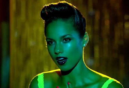 Alicia keys girl on fire clip