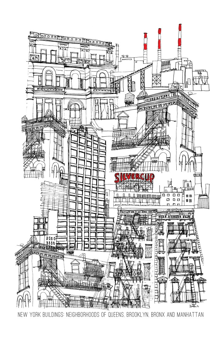 ny-buildings A gagner : deux digital painting d'une artiste locale new-yorkaise (Terminé)