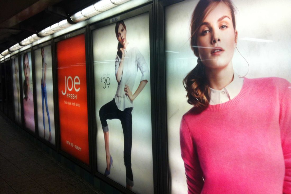 les magasins Joe Fresh à New York