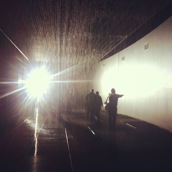 moma new york rain room