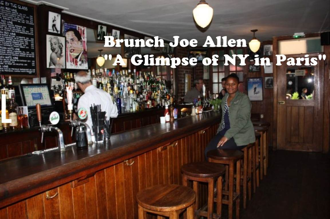 J'ai testé le brunch Joe Allen à Paris