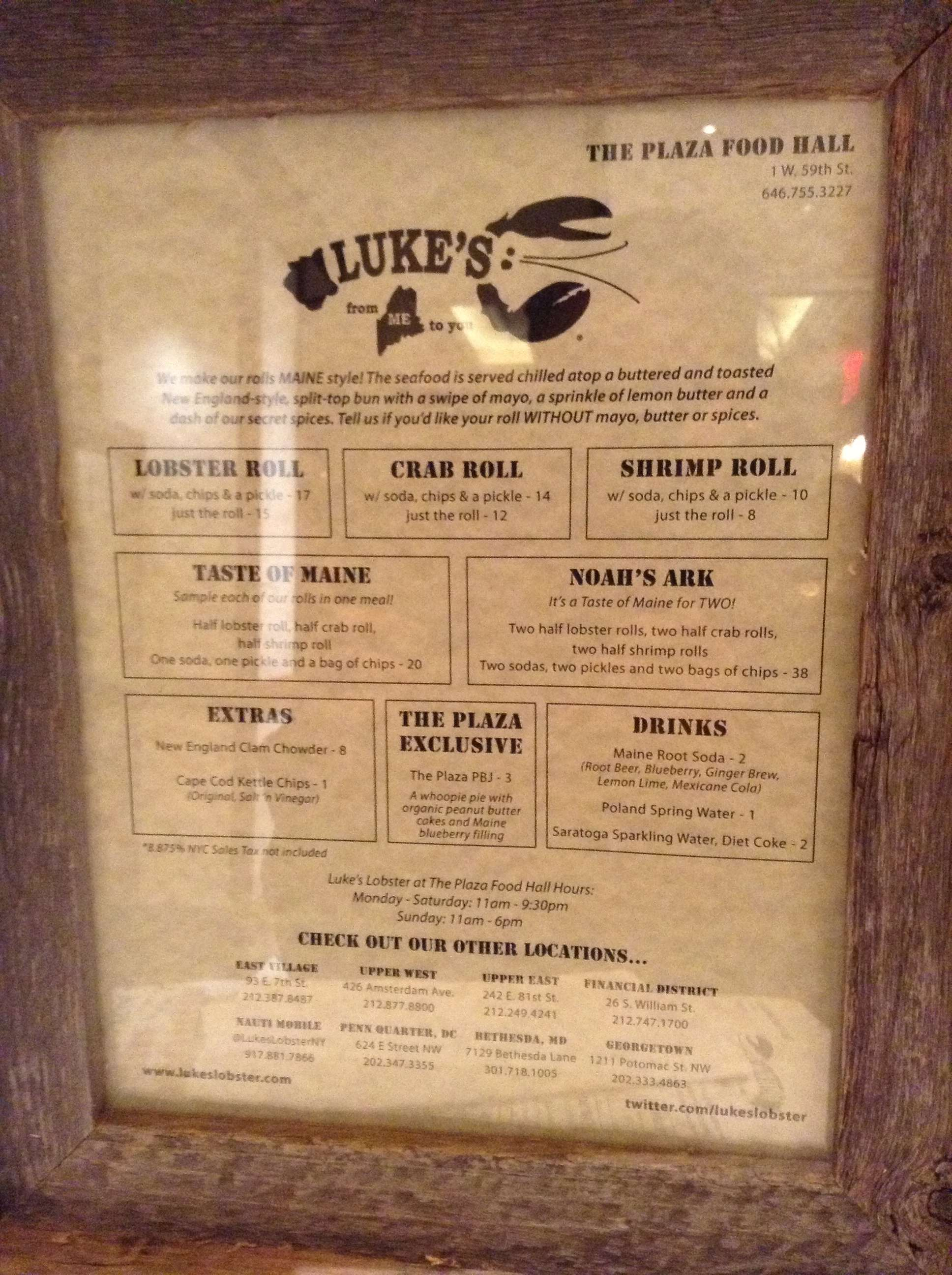 Lukes-Lobster-New-York-2 Mon avis sur le hot dog au homard de Luke's Lobster New York