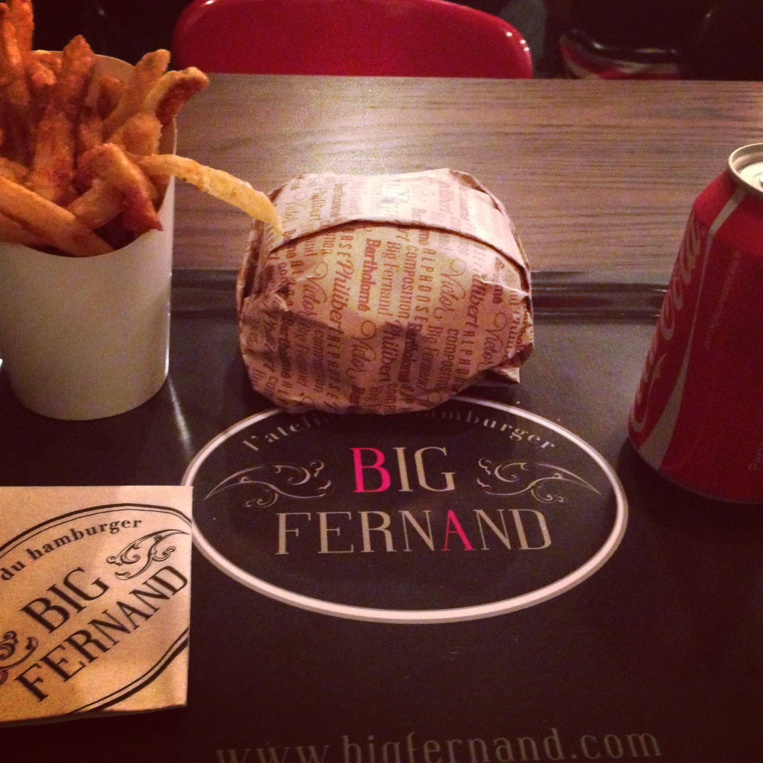 hamburger-à-paris J'ai testé Big Fernand, l'atelier du hamburger à Paris