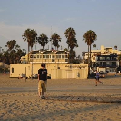 IMG 0906 400x400 Enjoy your life   Santa Monica beach