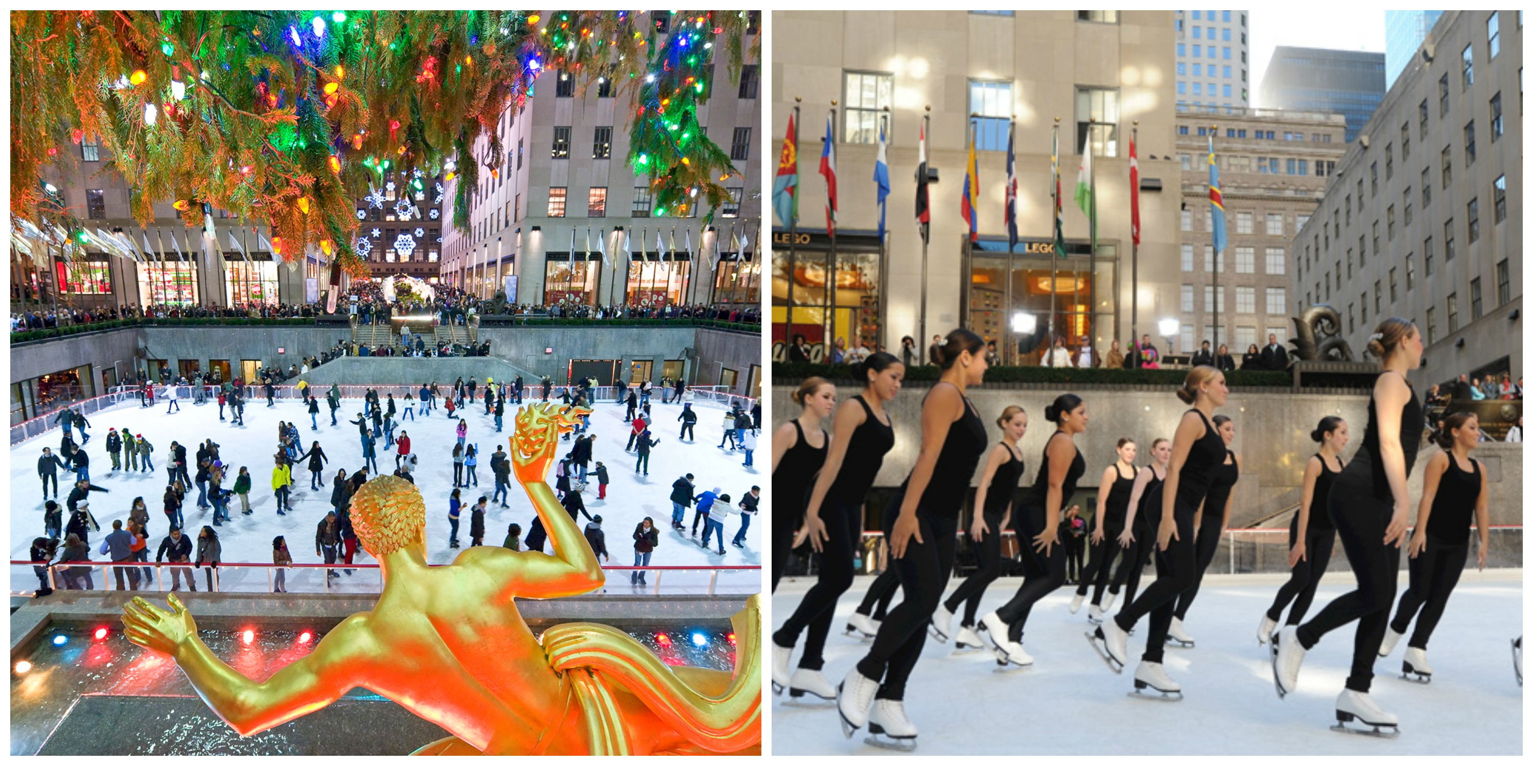 the rink rockefeller center noel a new york