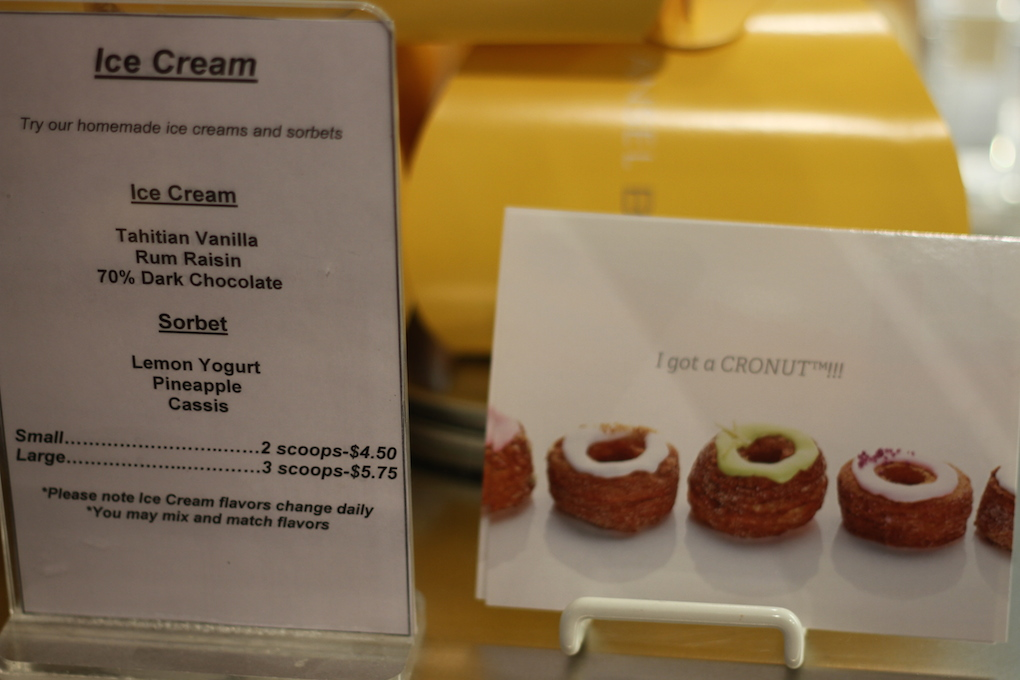 IMG_1800 Le cronut de Dominique Ansel Bakery à New York