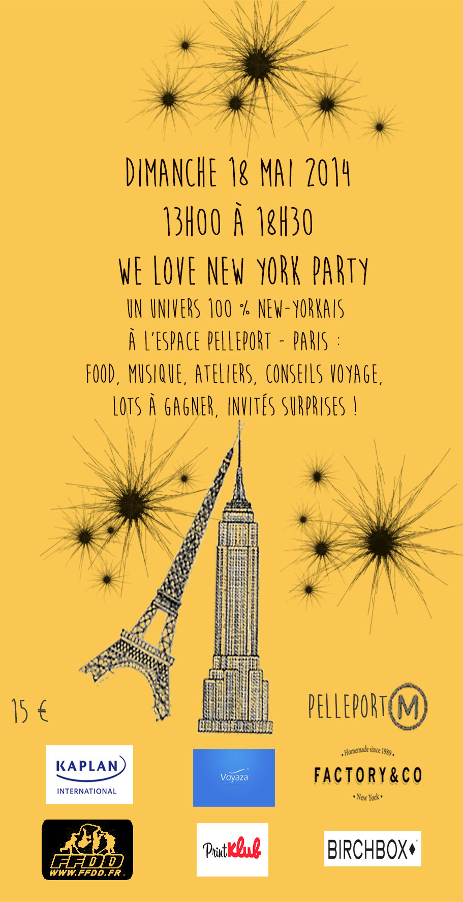 we love new york party