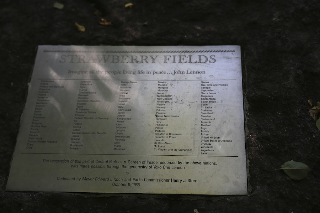 IMG_1731 Strawberry Fields, Central Park New York