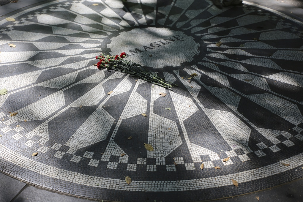 Strawberry fields central park new york