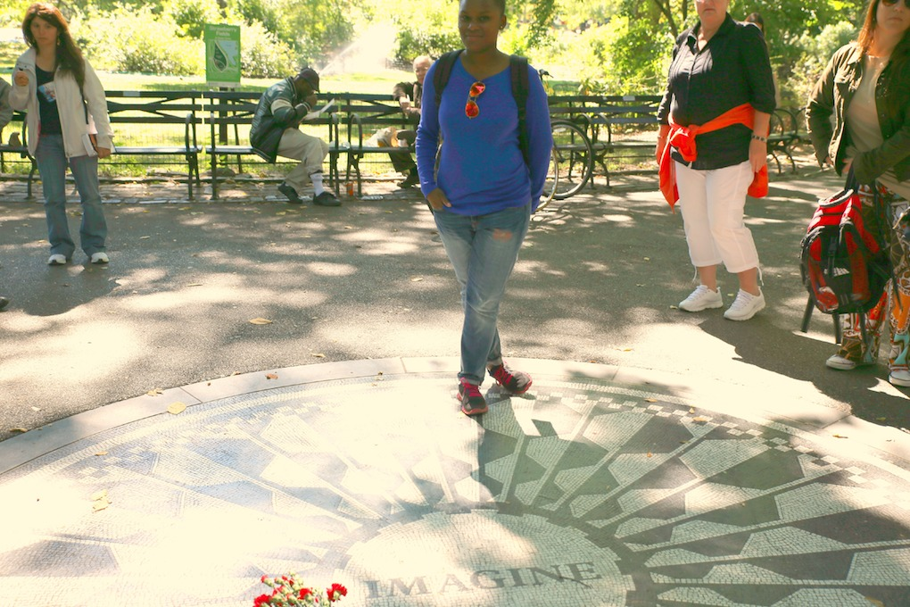 IMG_1735 Strawberry Fields, Central Park New York