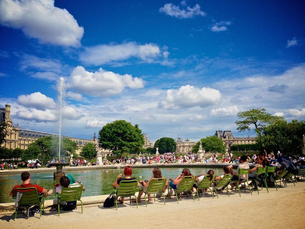 photo-5-1 Le Jardin des Tuileries, Paris