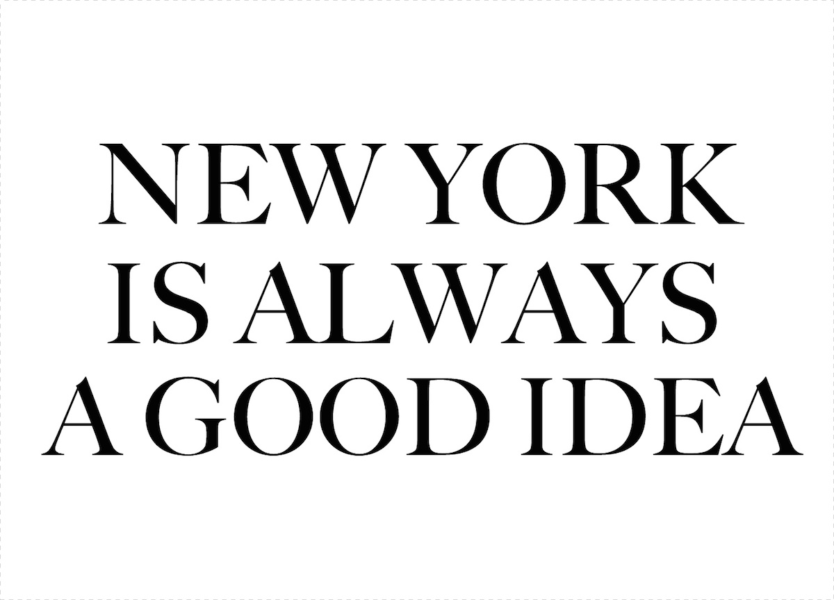 new-york-is-always-a-good-idea New York, a source of inspiration #5