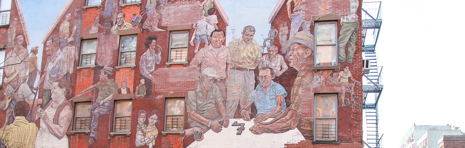 peinture-murale-east-harlem-new-york East Harlem ou Spanish Harlem, le New York Latino