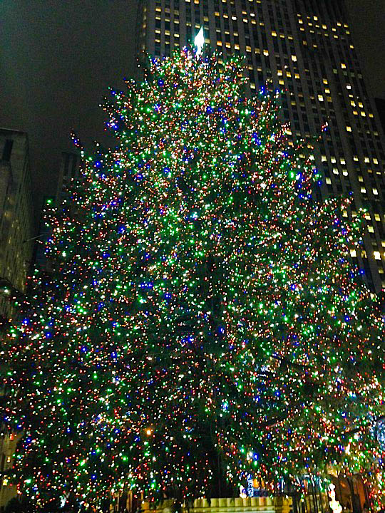 IMG_3782-2 Rockefeller Center Christmas Tree 2014 à New York