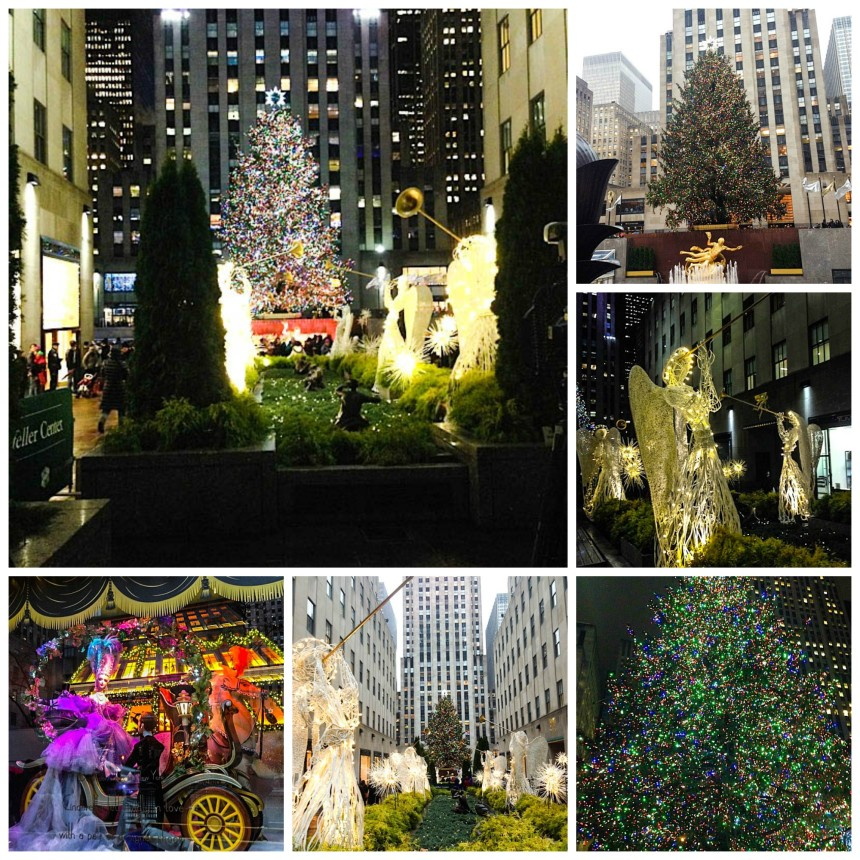 Rockefeller Christmas Tree New York