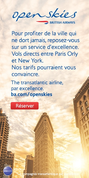 vol pour New York openskies