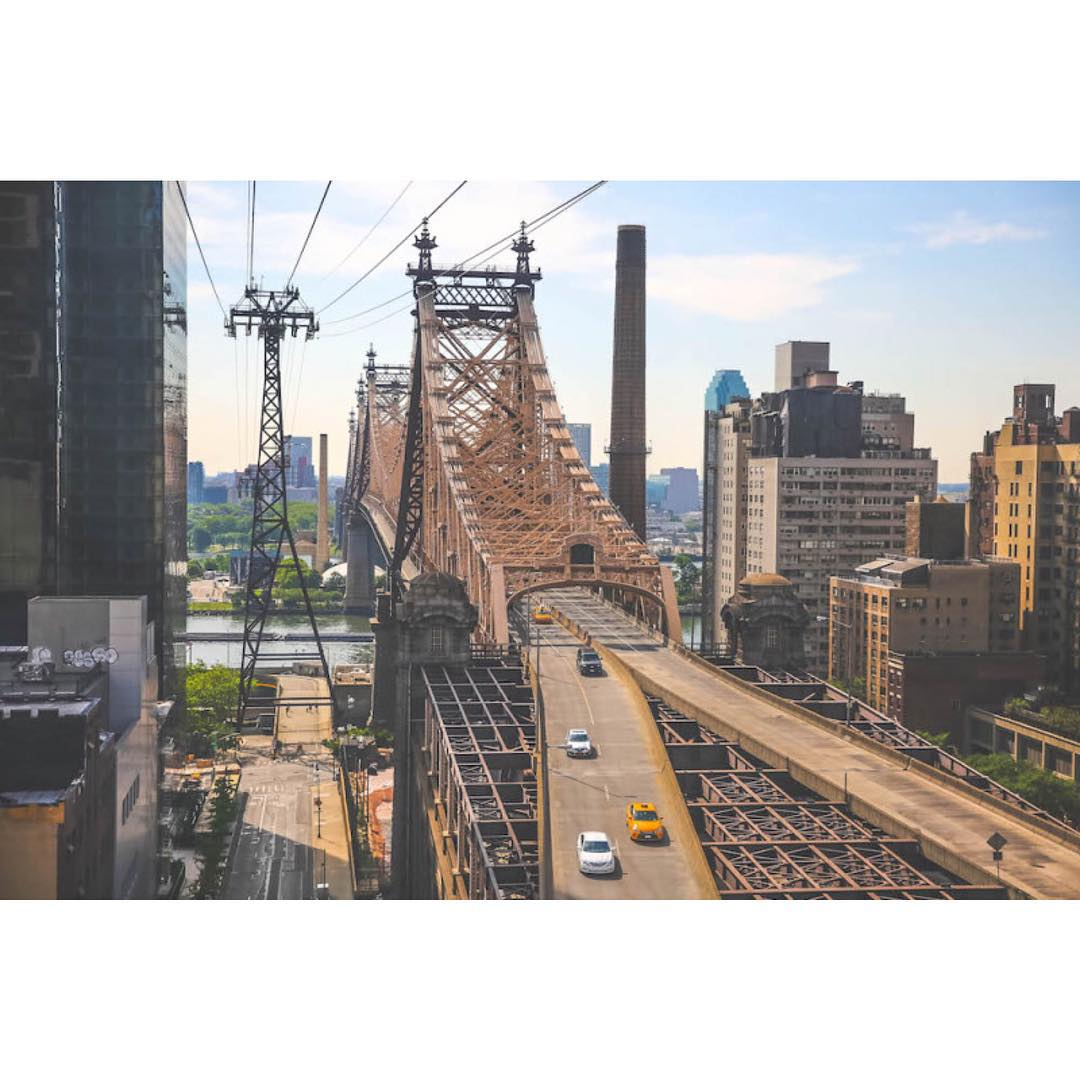 View from Roosevelt Island Tramway New York