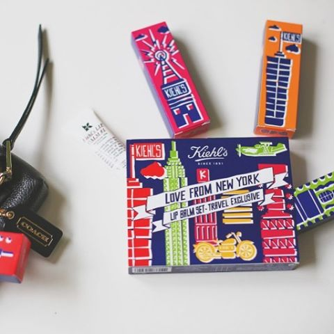 Mes lip balms kiehlsfrance travel exclusive sur le thme dehellip