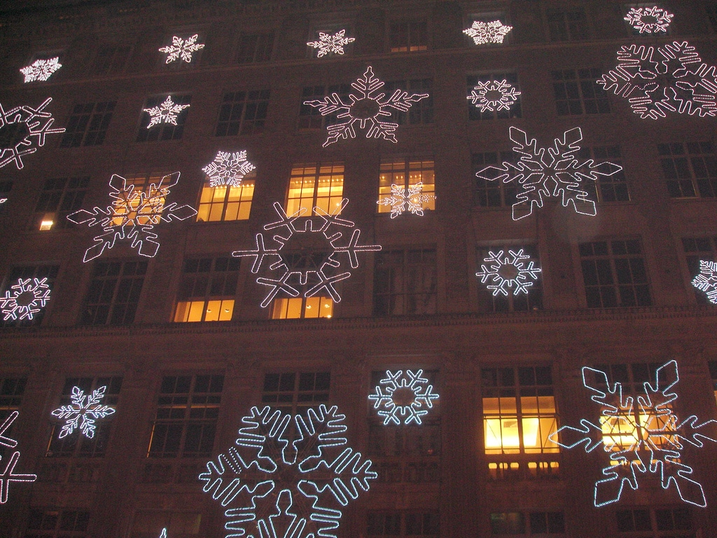 saks-fifth-avenue-new-york Christmas in New York, a source of inspiration #7