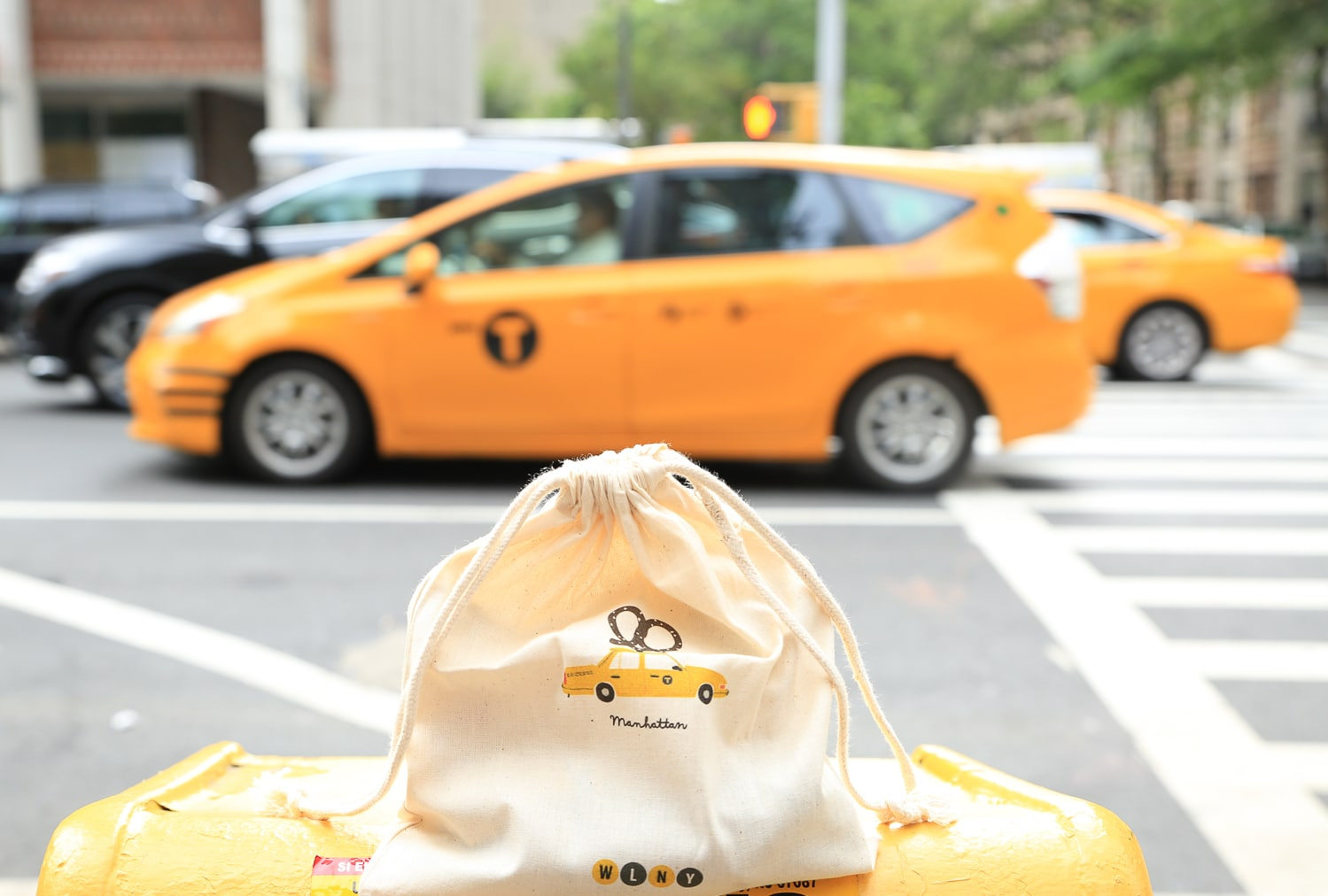 pochette-coton-manhattan-taxi La seconde collection de mon SHOP We Love New York !