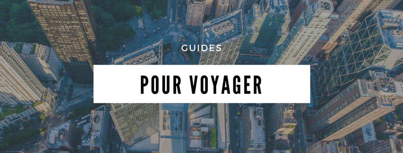 GUIDES POUR VOYAGER