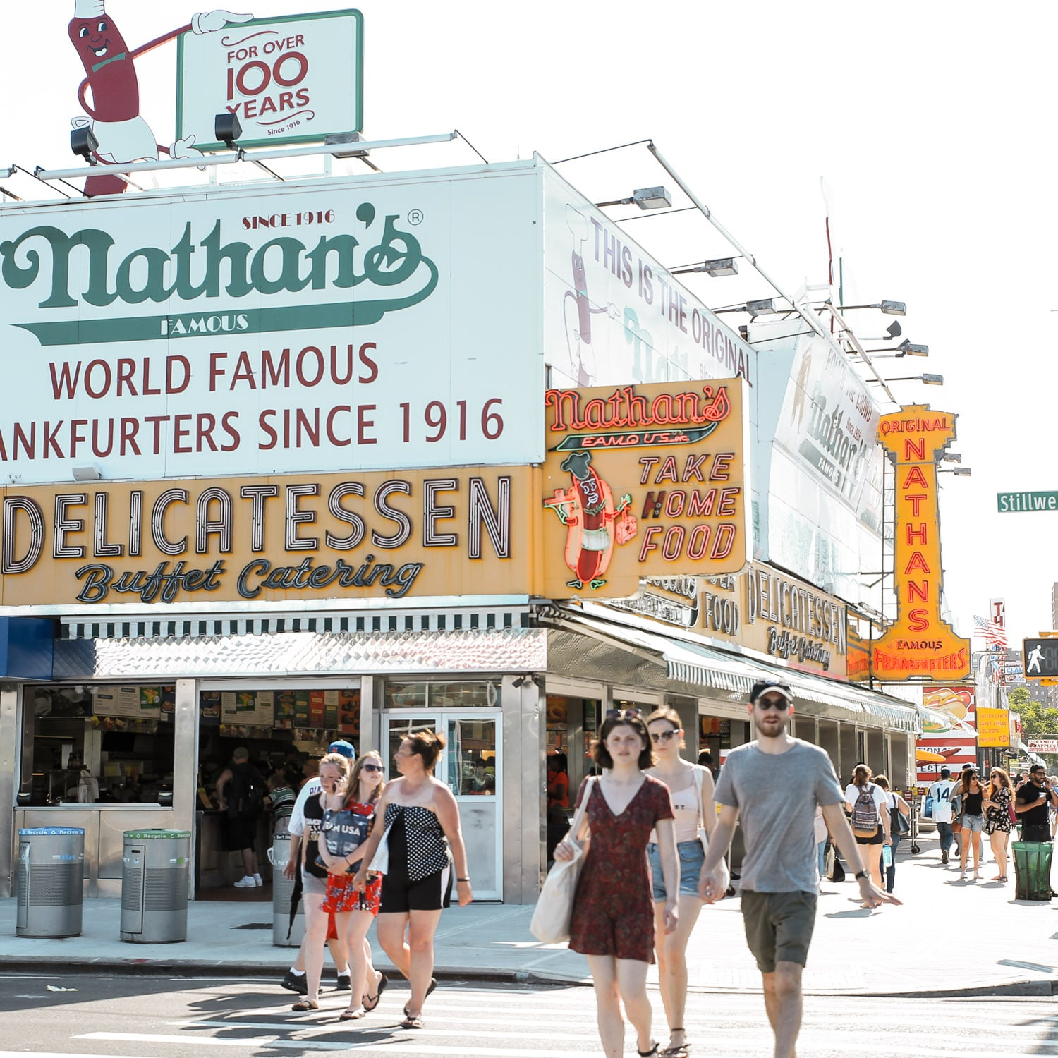 Nathans-Famous-Coney-Island_ Coney Island, New York