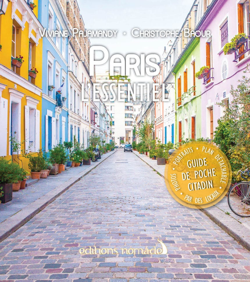 guide de paris editions nomades