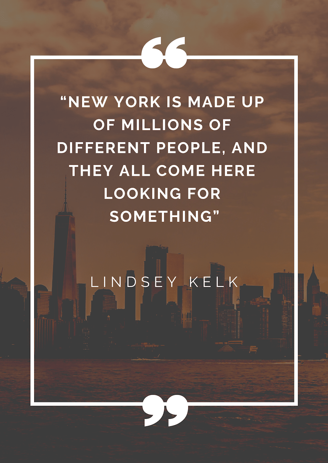 i-love-new-york Citation de New York - Mes favorites