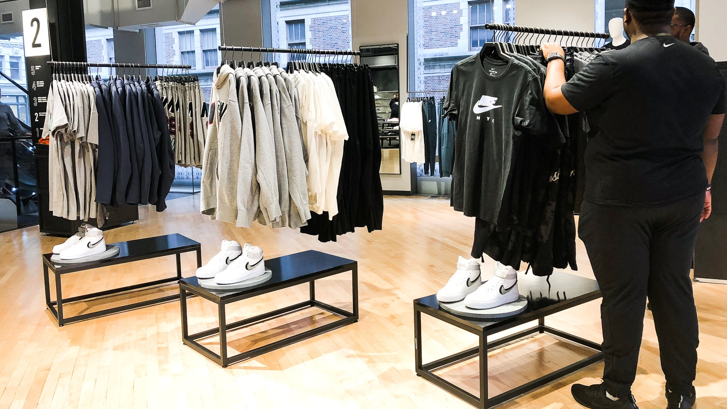 Nike-New-York Nike New York SoHo, pour une expérience shopping Made in USA
