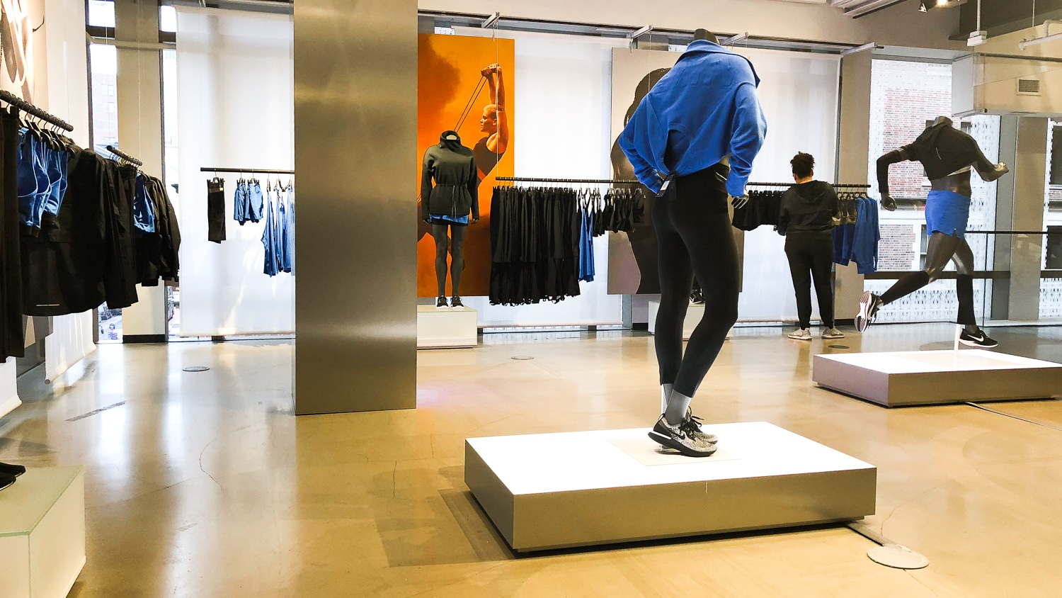 Outlet-Nike-New-York Nike New York SoHo, pour une expérience shopping Made in USA